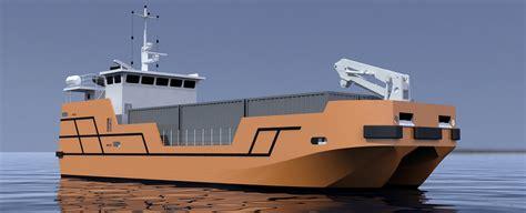 catamaran container ship 9 teu cargo ship cmn group
