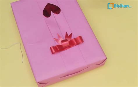 cara bungkus kado bentuk hati cara membungkus kado untuk pasangan tercinta