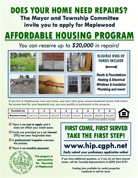 affordable housing program maplewood affordable housing program soma nj news tapinto