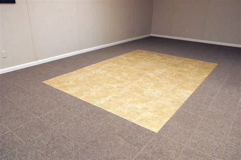 Basement Flooring Systems Basement Floor Tiles In Nepean Ottawa Orleans On Waterproof Basement Flooring In Carpet