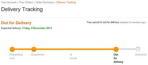 Delivery Tracking where is my parcel helping customers to track parcels