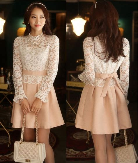 Dress Korea Original Import 6527 baju dress korea related keywords baju dress korea