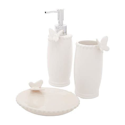 bathroom range butterfly bathroom accessories asda