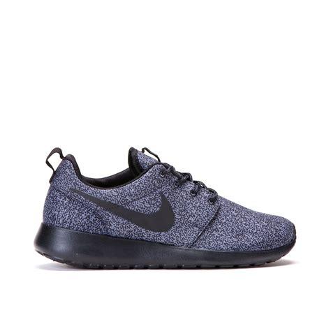 Nike Rhose nike wmns roshe run print anthracite black 599432 017