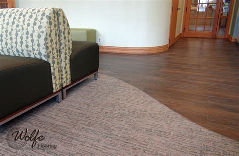 laminate flooring transitions to carpet