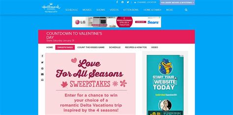 Hallmark Channel Sweepstakes 2015 - hallmark channel s love for all seasons sweepstakes