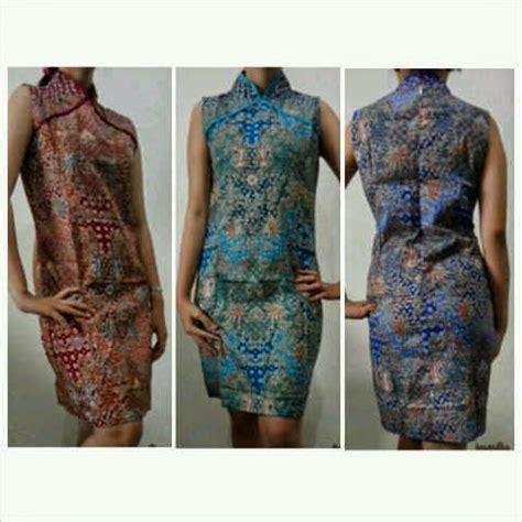 Baju Yukensi Dress bw 024 aneka model baju batik modern pria dan wanita