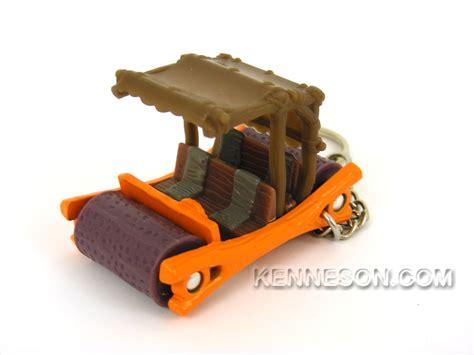 Hotwheels Flint Mobile Colour Changing custom keychain flintstones color changing flintmobile