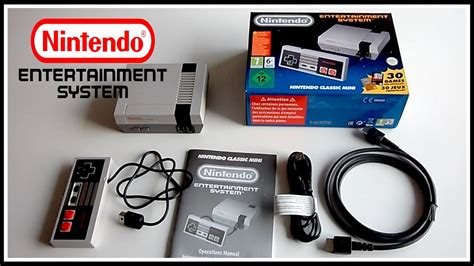 nintendo classic mini nes achat nintendo nes classic mini unboxing pr 233 sentation et description fr hd1080