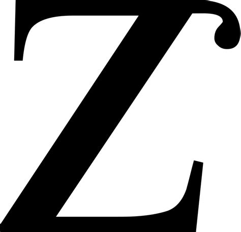 Letter Zee Originals File Small Letter Z With Tophook Svg Wikimedia Commons