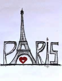 i love paris digital art by sladjana lazarevic