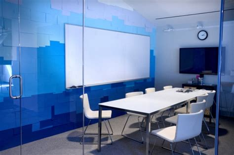 blue office how to 8 alternate wall covering ideas for renters 2
