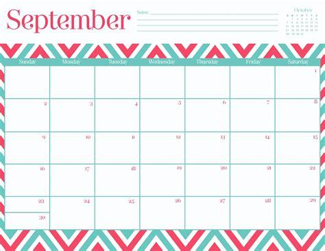 printable calendar 2014 september 8 best images of free cute printable calendars september