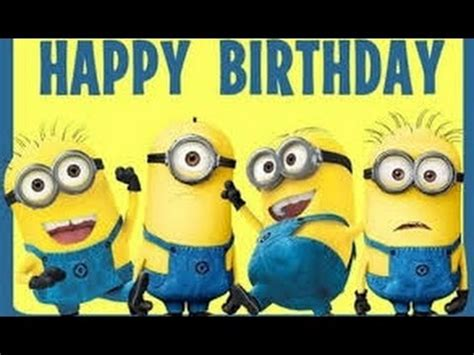 imagenes de feliz cumpleaños amiga de los minions feliz cumplea 241 os a lo cubano con minions happy birthday h
