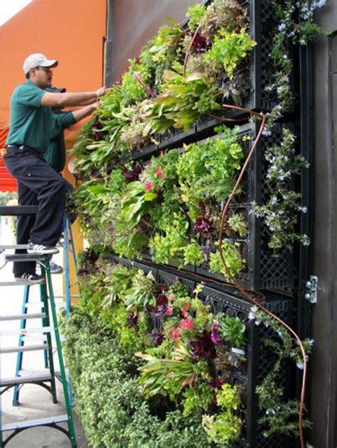 Edible Vertical Garden 13 Great Wall Designs For Your Properties Decor Advisor