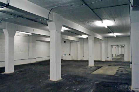 the basement warehouse industrial white basement warehouse easily blacked out