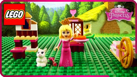 Lego Princess Diary Beautiful lego disney princess sleeping s bunny magic build