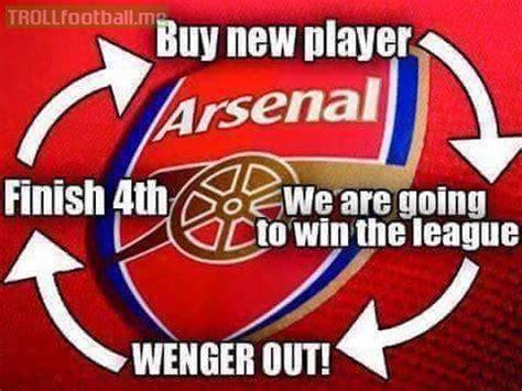 arsenal jokes the arsenal cycle troll football