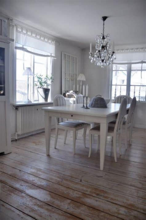 dining room white grey black chippy shabby chic