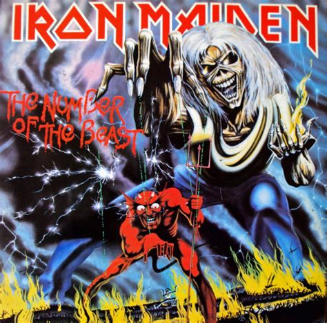 Vinyl Iron Maiden The Number Of The Beast iron maiden the number of the beast vinyl lp album at discogs