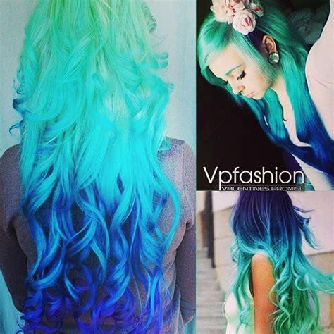 colorful hair dye clip in hair extensions archives vpfashion vpfashion