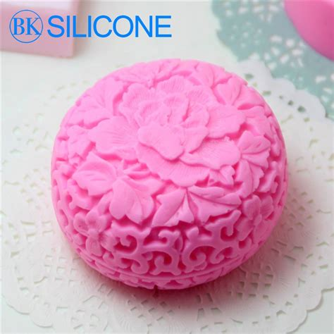 flower soap molds chocolate cookie mould cake decorating