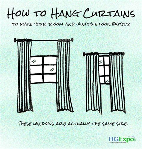 how do you hang curtains how to hang curtains