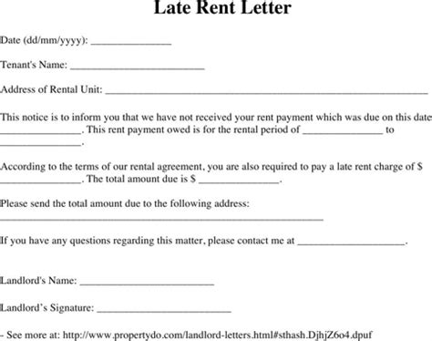 Lease Notice Exle Lease Rent Notice For Excel Pdf And Word