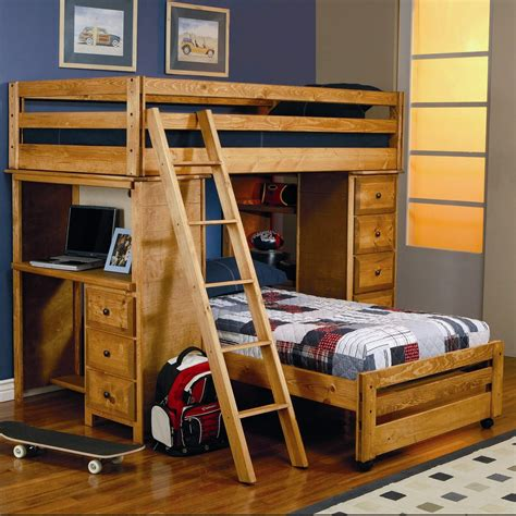 L Shaped Loft Bunk Bed 21 Top Wooden L Shaped Bunk Beds With Space Saving Features