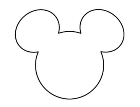anyone know where i can download a template of mickeys