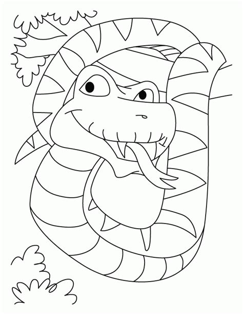 King Cobra Coloring Pages - Coloring Home