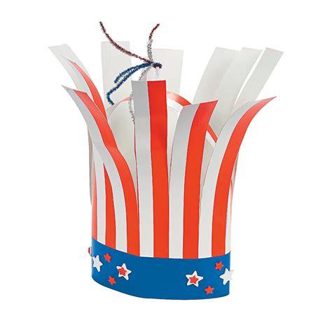hat crafts for patriotic firecracker hat craft kit trading