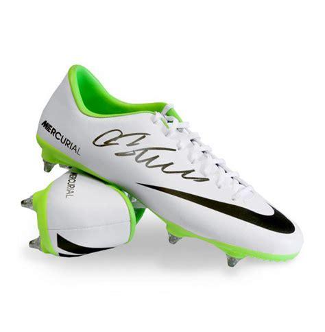 cristiano ronaldo football shoes cristiano ronaldo signed football boot nike mercurial