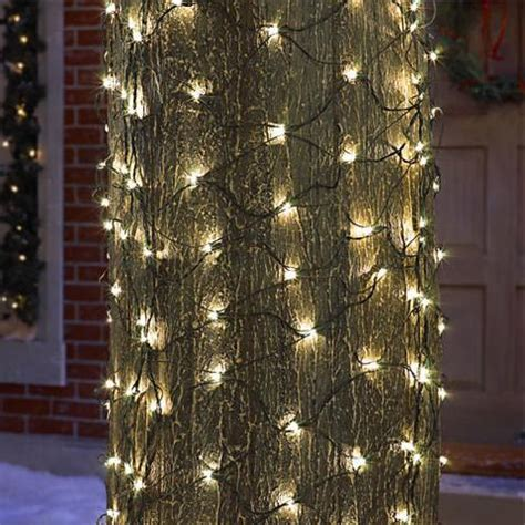 tree trunk net lights tree trunk christmas lights