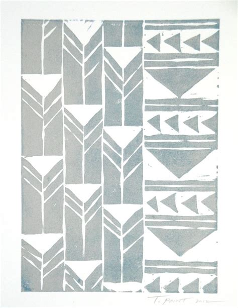 print pattern geometric 1780674147 abstract geometric tribal triangles art block print art illustrations prints