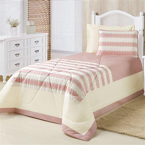 edredon solteiro cinza edredom cama solteiro menina provence ros 234 essencial