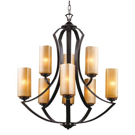 9 light chandelier bronze 9 light bronze umber chandelier 7509 bu cl i the home depot