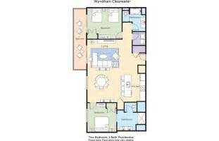 Clearwater Floor Plan Club Wyndham Wyndham Clearwater Resort