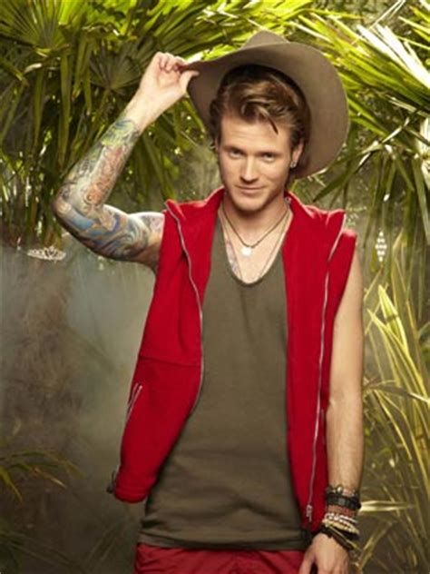 mcbusteds dougie poynter says he doesn t mind supporting i m a celeb star dougie poynter s new girl lara is no