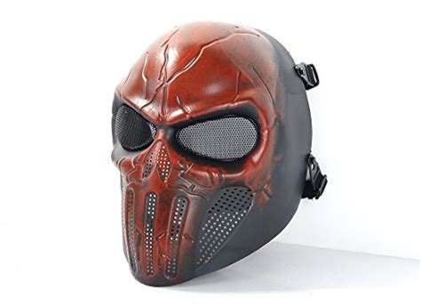 Creambath Masker Bq Yp tech p punisher skeleton mask protective mask gear for use as tactical mask airsoft and