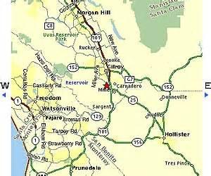 cus gilroy area maps gavilan college