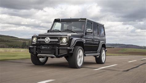 mercedes benz g class exclusive hofele design g cross redefines the mercedes
