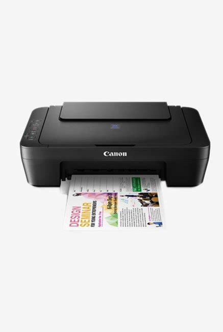 Printerprinter Desktop Canon Pixma E410 Print Scan Copy Original canon pixma e410 all in one printer black rs 4308 tatacliq
