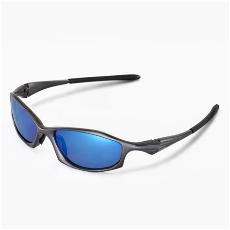 walleva polarized blue replacement lenses for oakley hatchet wire sunglasses