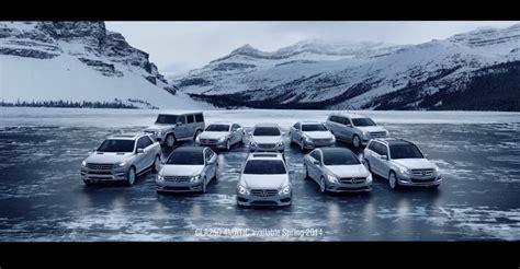mercedes car lineup mercedes usa launches 4matic models offensive