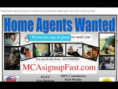 How To Make Money Online Posting Ads - mca training make money posting ads youtube