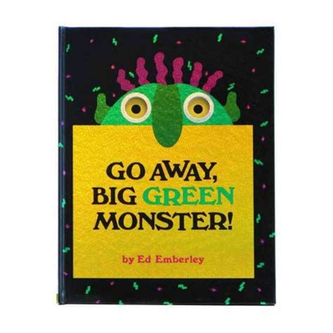 go away green go away big green monster english wooks