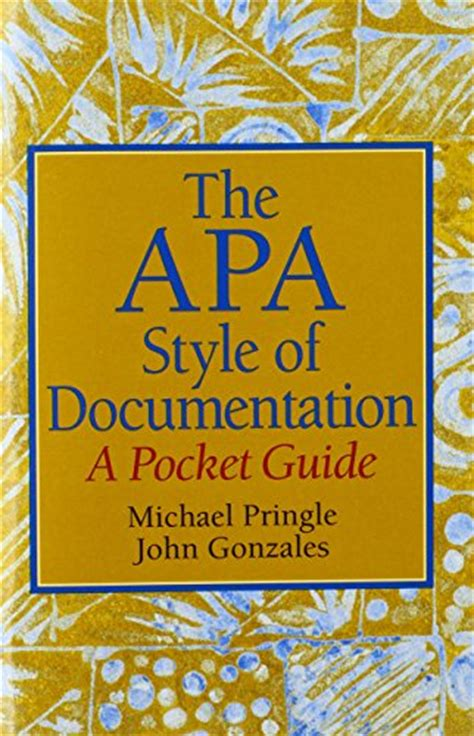 a pocket style manual apa version format the abstract page in apa style 6th edition hubpages