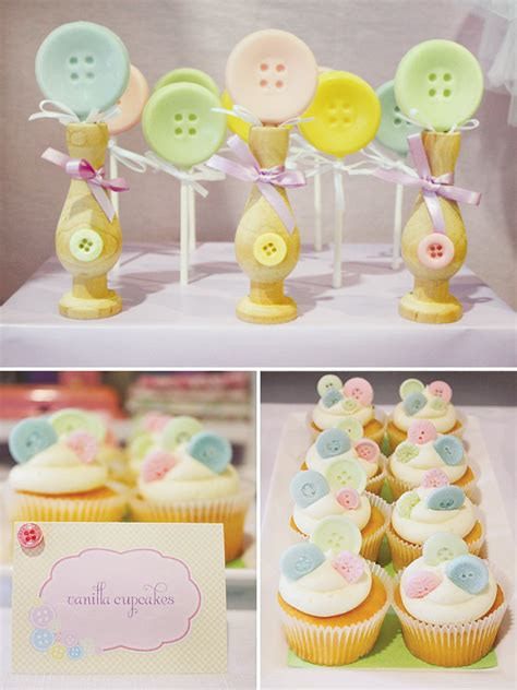 As A Button Baby Shower Ideas by Un Th 232 Me De Baby Shower Tendance As A Button Jolis
