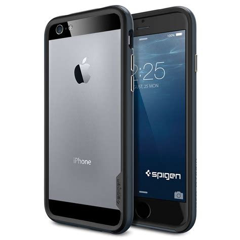 Spigen Neo Hybrid Ex Metal For Iphone 6 Plus Sat Limited spigen neo hybrid ex for iphone 6 metal slate